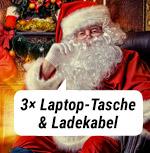 3x Laptop-Tasche & Ladekabel!
