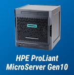 Gewinnen Sie einen HPE ProLiant MicroServer Gen10!