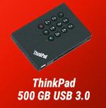 ThinkPad 500 GB USB 3.0-Sicherheitsfestplatte!