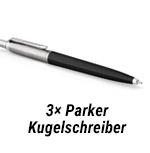 3x Parker Kugelkschreiber!