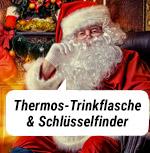 Thermos-Trinkflasche & Schlüsselfinder!