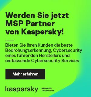 Werden Sie jetzt MSP Partner von Kaspersky!