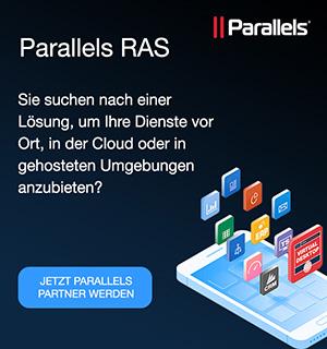 Jetzt Parallels Partner werden!