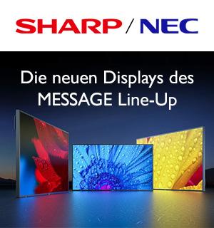 Willkommen bei Sharp NEC Display Solutions
