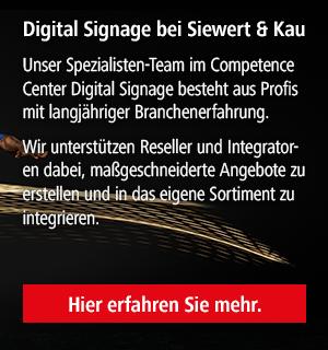 Digital Signage bei Siewert & Kau